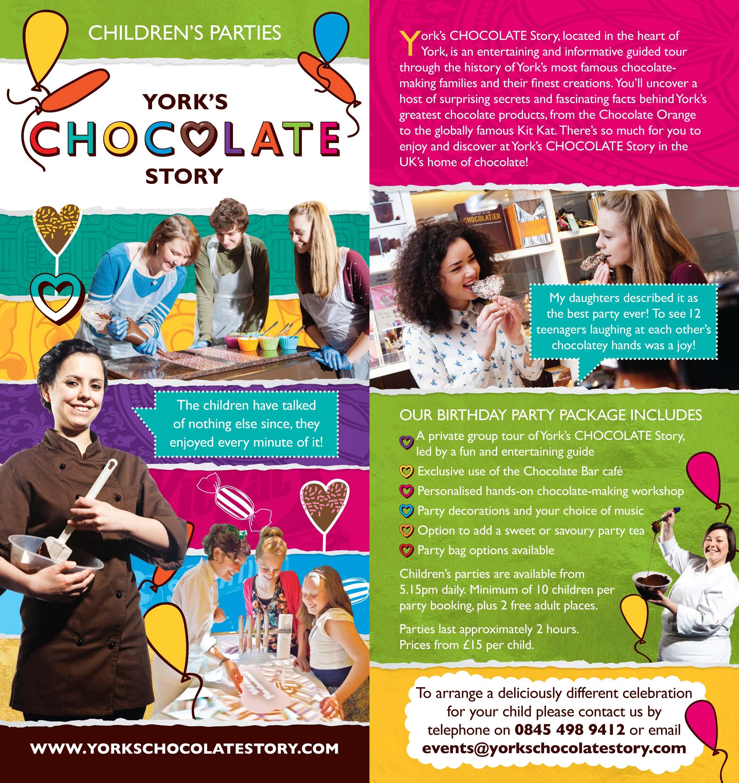 Children S: York's Chocolate Story